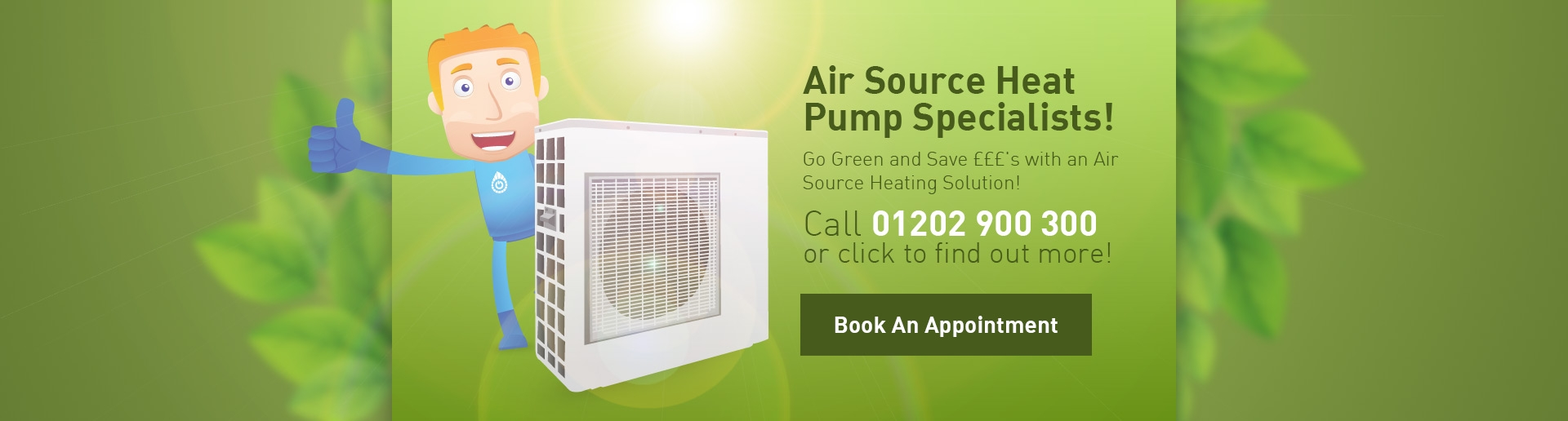 Air Source Heating Pump Installer