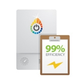 99% Efficiency From Electric Boilers