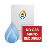 No Need For A Mains Gas Supply